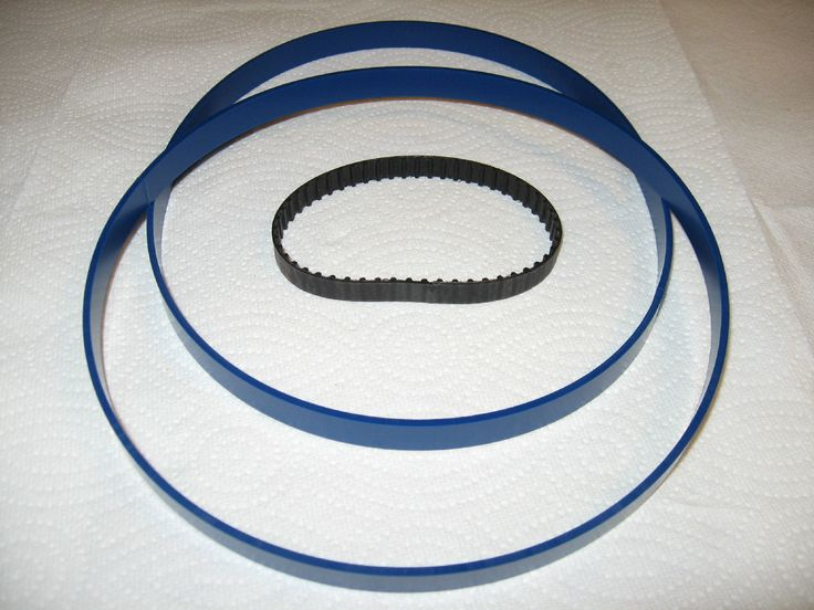 "2 Blue Max Band Saw Tires And Drive Belt For Mastercraft 9"" Band Saw 55-6726-8"