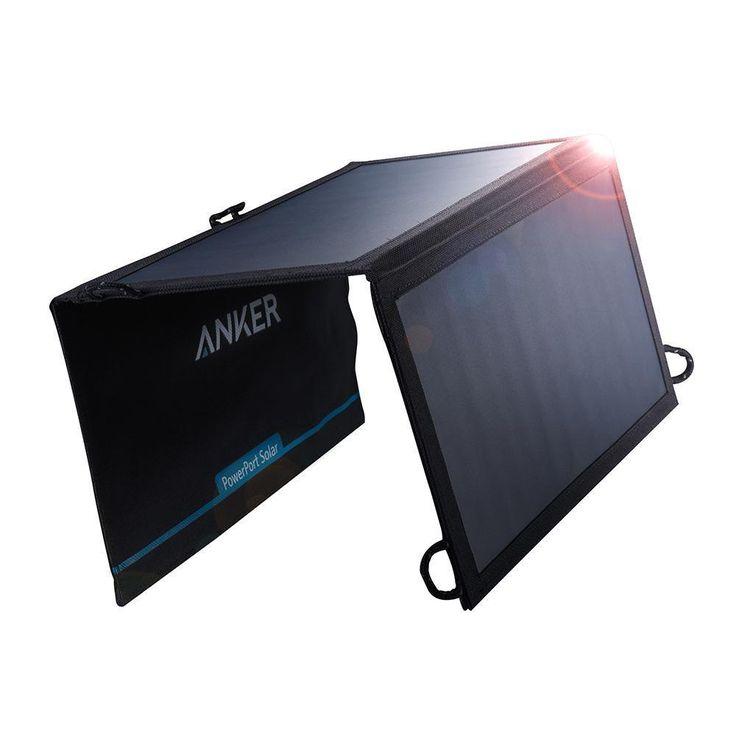 Anker 15W Dual Ports USB Solar Charger PowerPort Solar Lite | AU$65 (+shipping) @ AnkerDirect eBay store