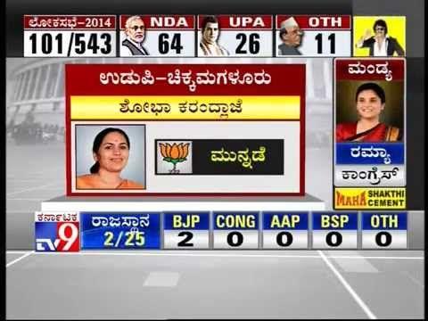 TV9 Live: Lok Sabha Elections 2014 Results - Part 5