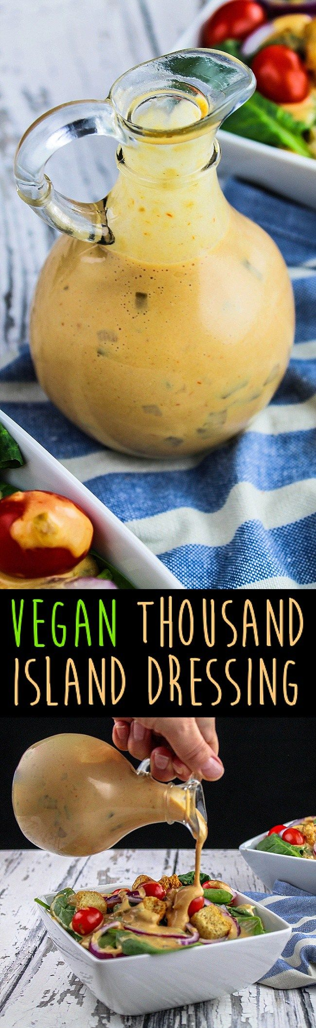 Vegan Thousand Island Oil-Free Dressing