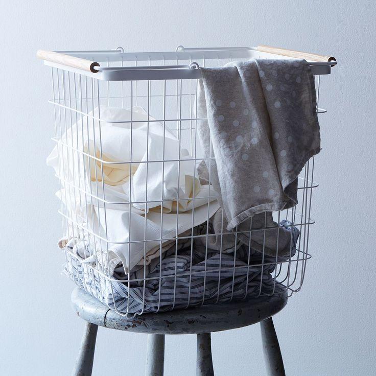 Steel & Ash Laundry Basket