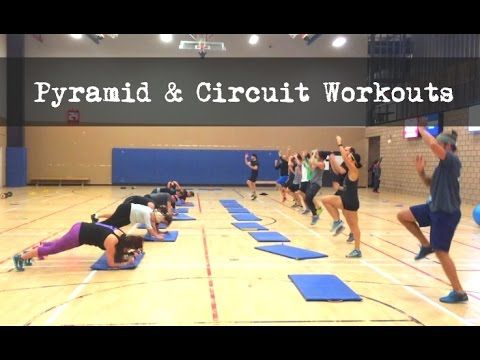 Bootcamp Workouts - Pyramid & Circle Circuit - YouTube