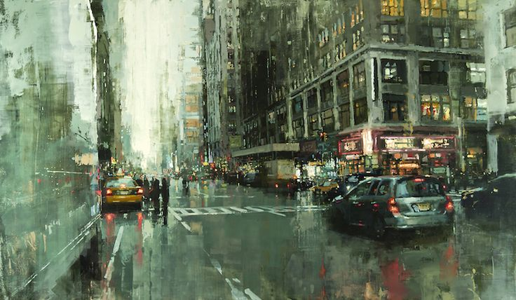 CITYSCAPES : DES PEINTURES DE PAYSAGES URBAINS PAR JEREMY MANN  http://www.lumieresdelaville.net/2014/04/24/cityscapes-des-peintures-de-paysages-urbains-par-jeremy-mann/  #architecture #architecturelovers #architecturephotography #urban #art #artinthecity #newyork #sanfrancisco