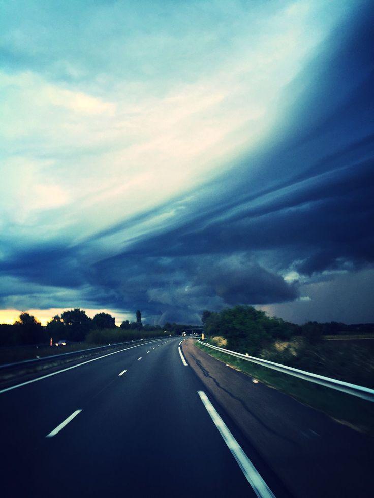 Sky Storm Cloud Stormy Sky Thunder Storm