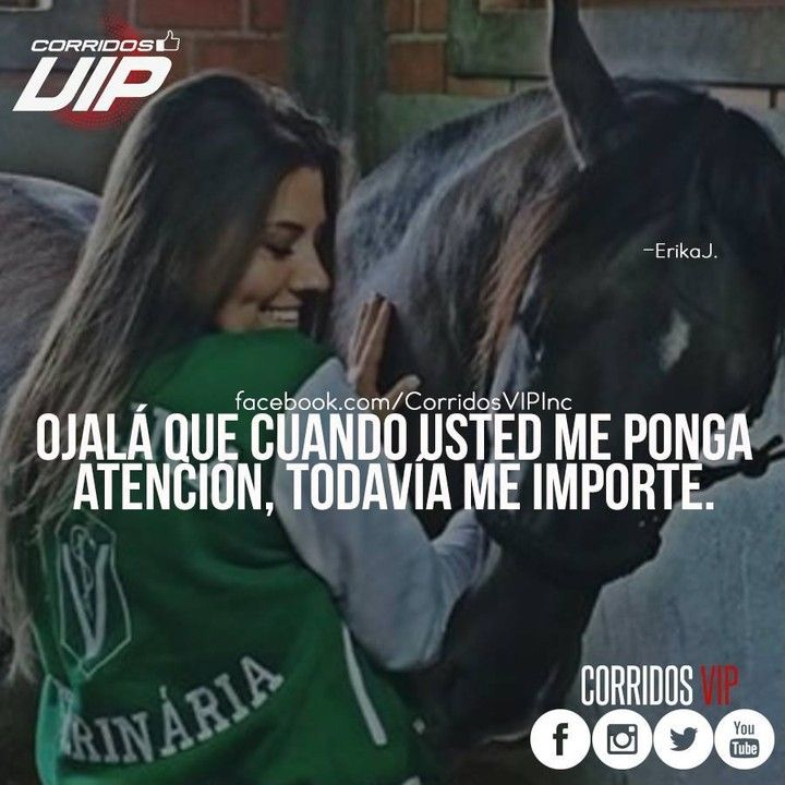 Ojalá.!   ____________________ #teamcorridosvip #corridosvip #quotes #frasesvip