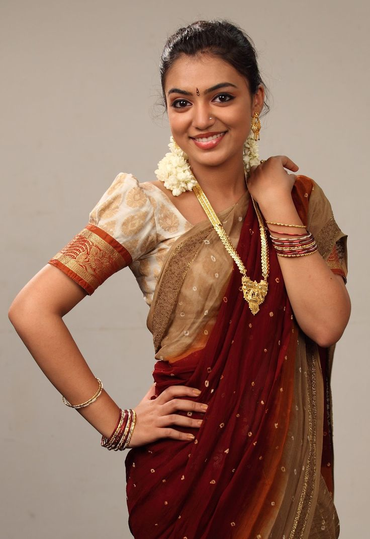 Nazriya Nazim in Saree