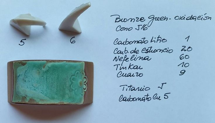 (167) Facebook, lithiumcarb. 1, strontiumcarb. 20, neph.syenite 60, borax 10, kwarts 9 + titaandioxide 5, kopercarbonaat 5