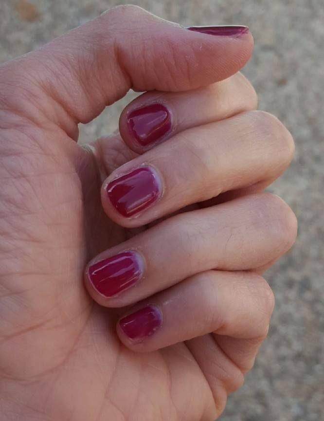 Take a Bite! Luscious berry... Jamberry TruShine Gel in Black Cherry. #nails #gelnails #blackcherry #beauty #nailedit #jelly #manicure #pedicure