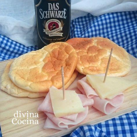 Aquí tienes la receta de pan nube (cloud bread), una de las más buscadas en la red por su composición sencilla y por ser apto para intolerantes al gluten.