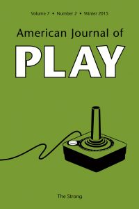 American Journal of Play - Video games play can do serious good