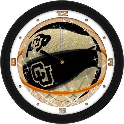 University of Colorado Buffaloes Basketball Wall Clock