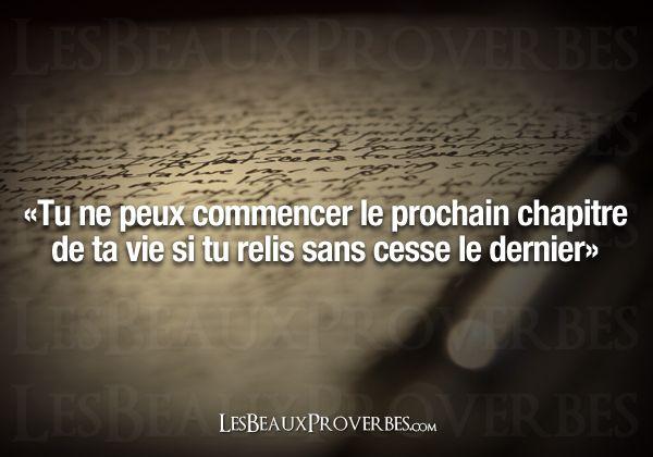 Les Beaux Proverbes – Proverbes, citations et pensées positives » Le prochain chapitre