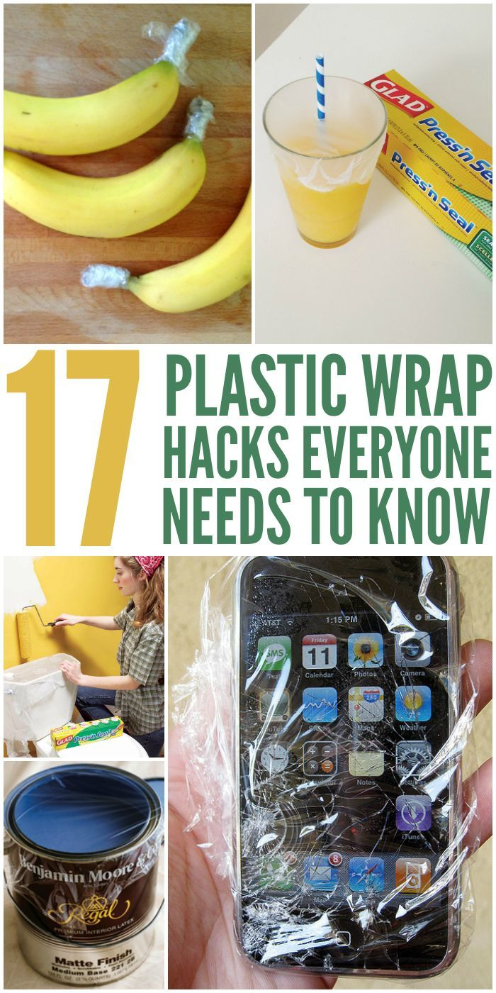 Plastic Wrap Tricks That Will Change Your Life - One Crazy House