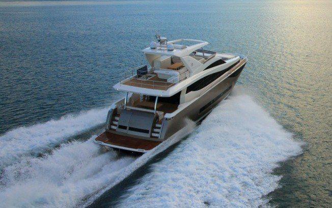 Iate de luxo de R$ 16 milhões é destaque do Rio Boat Show 2015