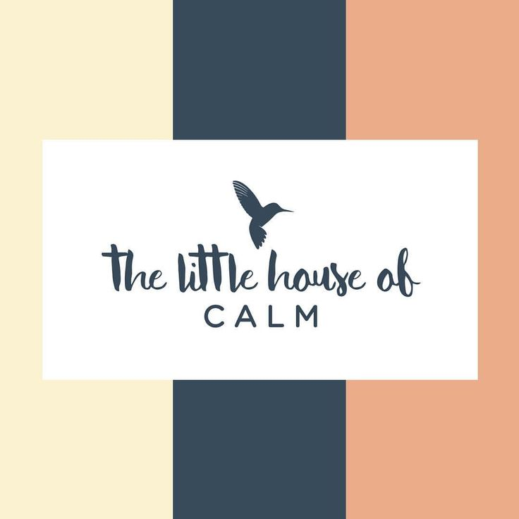 Identity design for The Little House of Calm Day Spa by Loki Creative