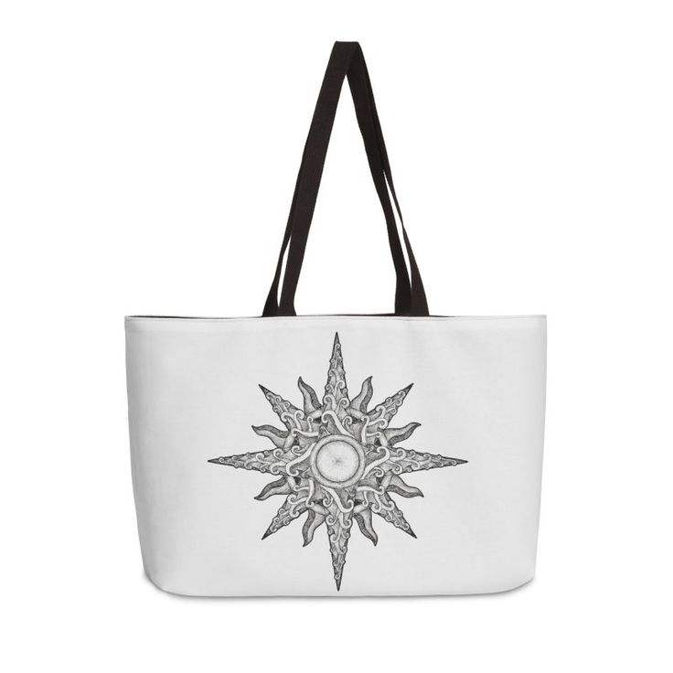 Surf in a windrose – compass (tattoo style) #bag by #Beatrizxe | #Threadless. Illustration based in a tattoo style. I made a compass or windrose using surfing sport as inspiration. It's for this reason that the design is formed by waves and sunshine. It's an abstract beach. #compass #Windrose #arrow #tattoo #illustration #shadow #draw #artwork #art #artist #creative #drawing #inspiration #ink #design #tattoo #tattoodesign #creativity #lineart