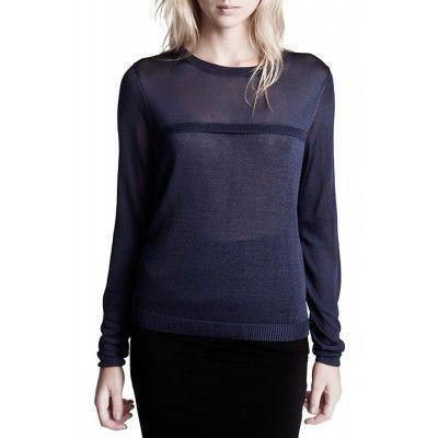 Stylein - Identic Sweater Blue - Kotyr.com