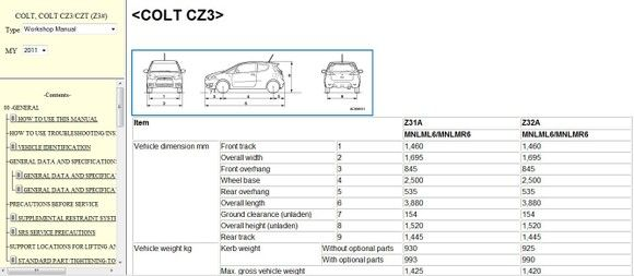 Pin En Mitsubishi Colt Repair Manual