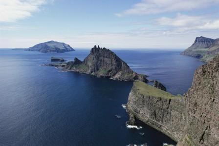 Part of the Faroe Islands coastline.