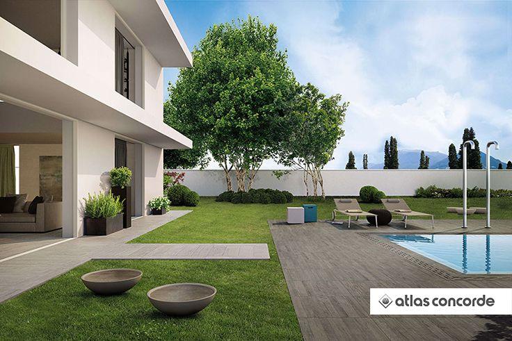 Axi #Grey #Timber #LASTRA20mm | #AtlasConcorde | #Tiles | #Ceramic