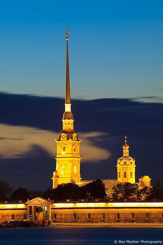 Peter and Paul Fortress with the Peter and Paul Cathedral in Saint Petersburg | Flickr