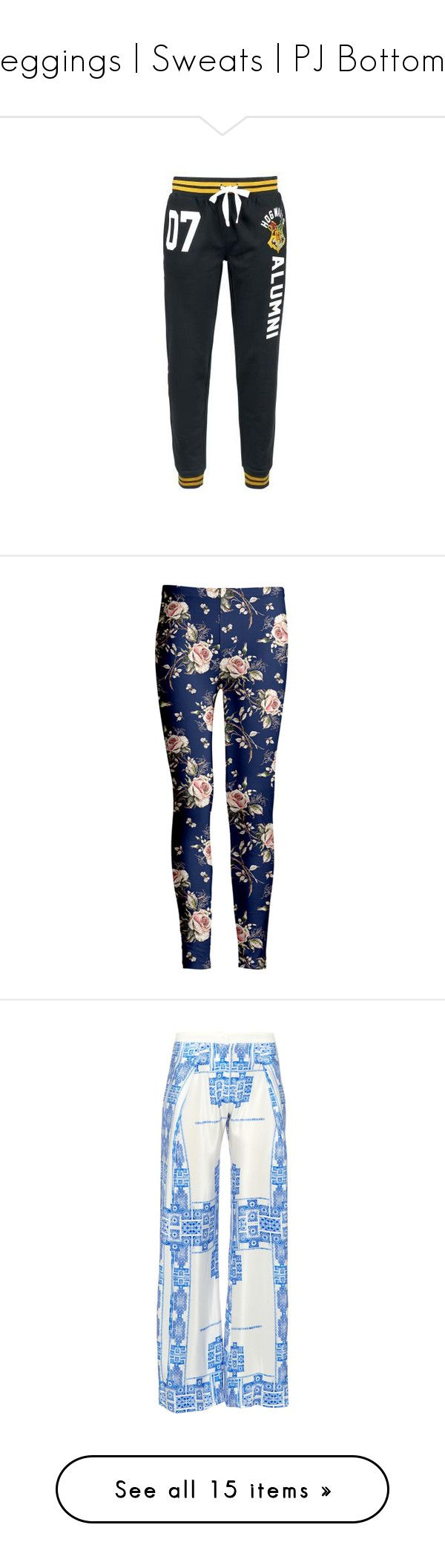 """Leggings | Sweats | PJ Bottoms"" by cupkatyk ❤ liked on Polyvore featuring plus size women's fashion, plus size clothing, plus size pants, plus size leggings, stretch leggings, pink leggings, patterned leggings, floral leggings, floral print pants and activewear"