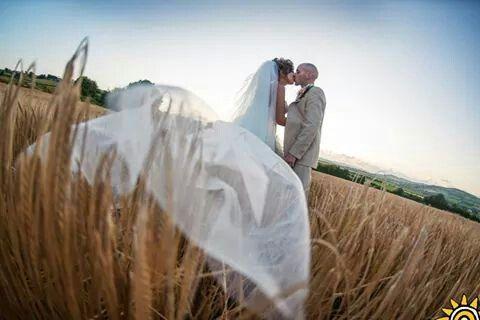 us in the cornfield #love