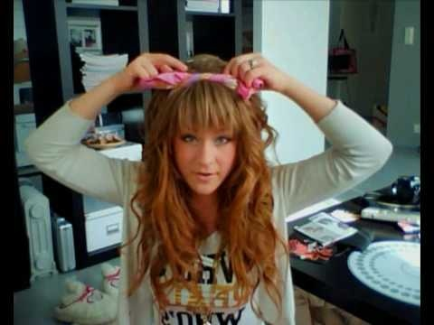 Making A Scarf Bow For Hair