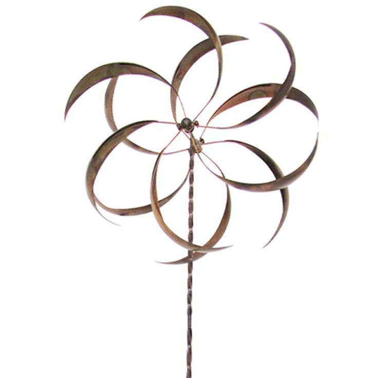 Leigh Country Curved Leaf Wind Spinner | from hayneedle.com