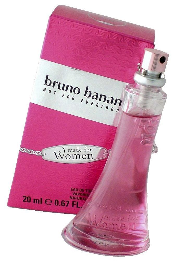 Bruno Banani MADE FOR WOMEN Woman 20 ml 0.67 oz EDT 0.7 oz Eau de Toilette #BrunoBanani