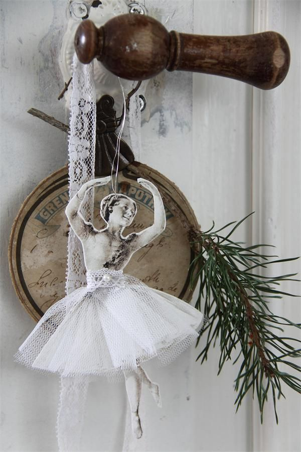 I have a whole set of pressed paper ballerinas. New tutus for all?
