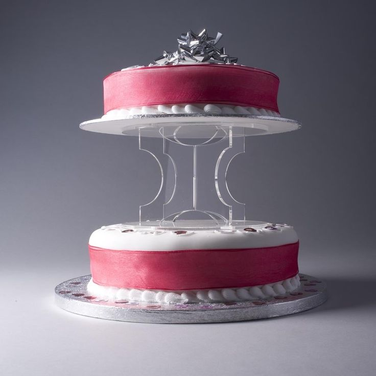 10cm cake stand (perspex cake stand)