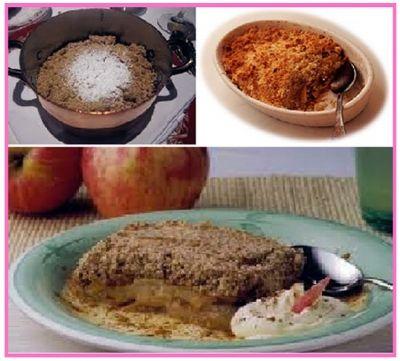 apple crumble (kırıntılı elma) nasıl yapılır, apple crumble tarifi, apple crumble yapılışı, apple crumble yapımı, ingiliz mutfağından hafif bir tatlı yapılışı, apple crumble, kırıntılı elma, kirintili elma, elma tatlisi, kirintili elma tarifi,