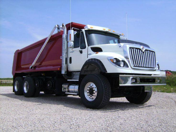 dump trucks for sale   2013 International Dump Truck 7600 for sale