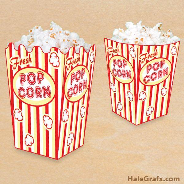 Best 20+ Popcorn boxes ideas on Pinterest | Shopkins party ideas ...