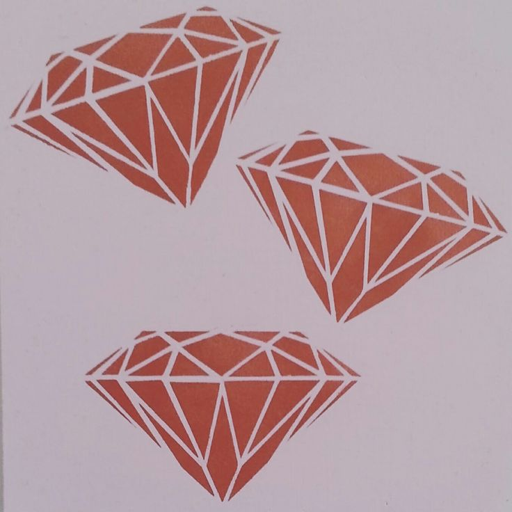 Copper diamonds cork pinboard