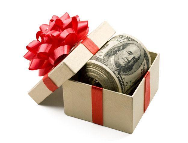 Image result for cash gift