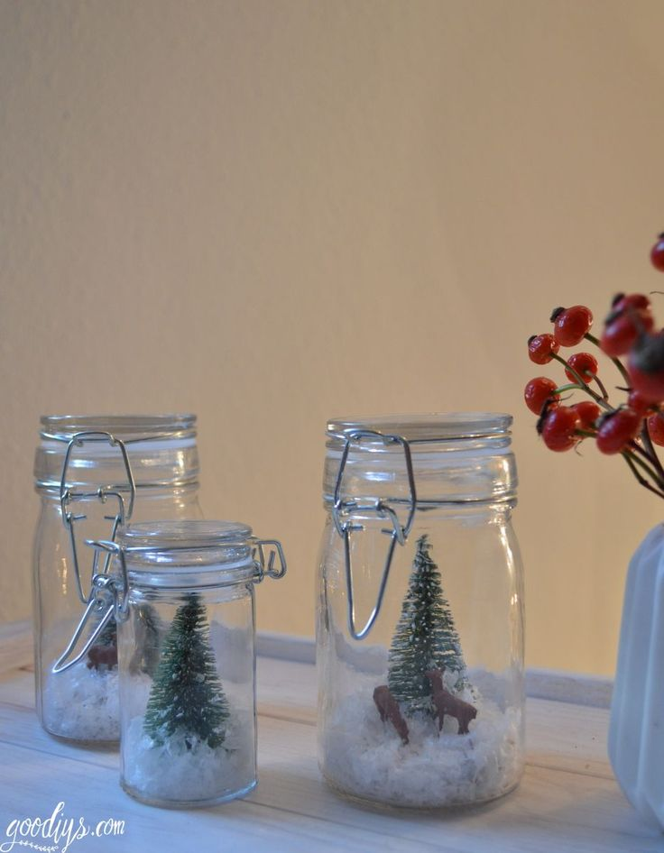 Dies ist ein einfaches DIY für dich, welches du leicht nachbasteln kannst. Dieser Winterwald wird gefüllt mit Kunstschnee, kleinen Rehen und Tannenbäumchen. Dein Innenleben kannst du ganz individuell nach deinem Geschmack gestalten. Wichtig ist nur, dass alles in das Glas … mehr