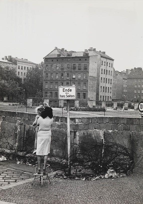 Fotografie - 20 Photographien Berliner Mauerbau. 1961.