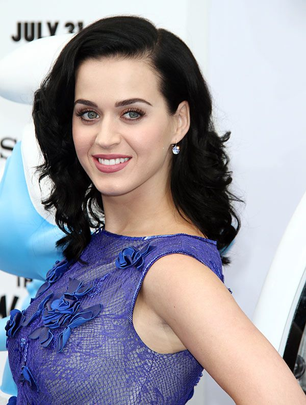 Katy Perry's Retro Hair At 'The Smurfs 2′ Premiere — Vintage Glamour