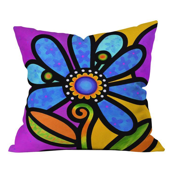 DENY Designs Steven Scott Indoor/Outdoor Polyester Throw Pillow   AllModern