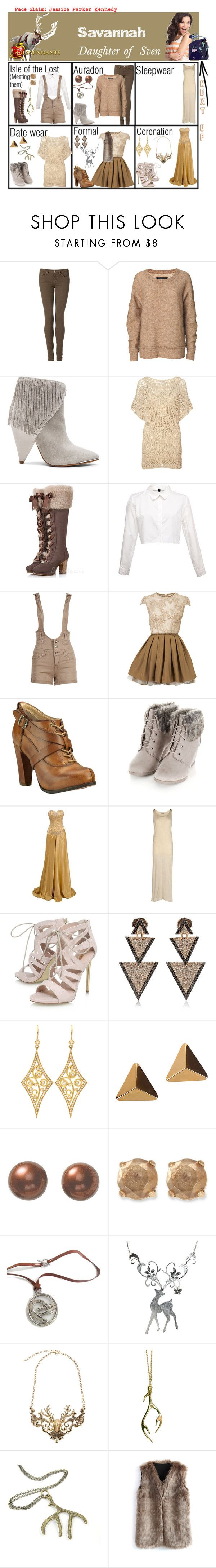 """Savannah. Daughter of Sven. Next up: The Fates"" by elmoakepoke ❤ liked on Polyvore featuring Tommy Hilfiger, By Malene Birger, IRO, Monsoon, Topshop, Timberland Boot Company, Grazia'lliani Soon, Carvela, Elise Dray and Annie Fensterstock"