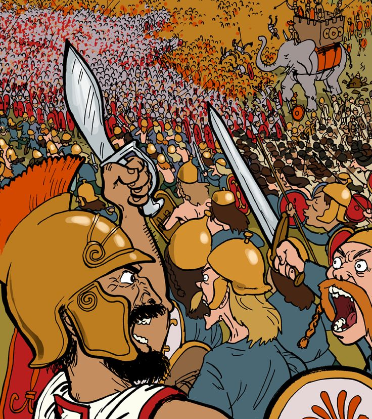 Grave Matters: Hannibal and The Battle of Cannae. In the Phoenix Issue 120. Adam Murphy - Comics