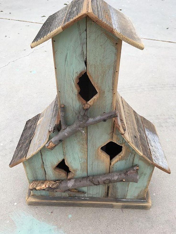 Awesome Bird House Ideas For Your Garden
