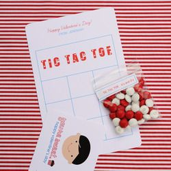 Cute idea for classmates!Valentine'S Day, Tac Toes, Tic Tac To, Toes Games, Ideas Sally, Toes Valentine, Sally Mcwilliams, Valentine Ideas, Games Ideas