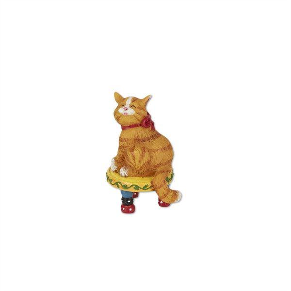 Mini Cat on Stool by Mary Engelbreit   Tabby cats, Studios ...