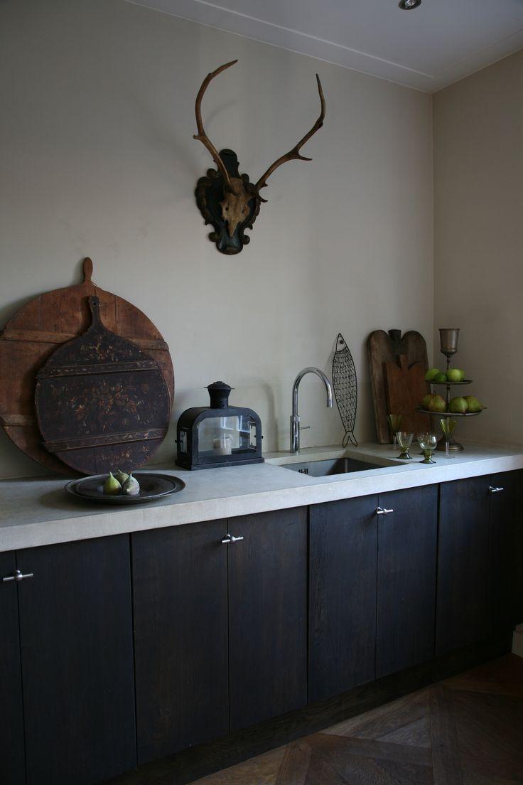 de zwarte keuken