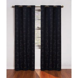 Eclipse Zodiac Energy-Efficient Curtain - Linen color.  Love the graphic print!  So inexpensive but great look.