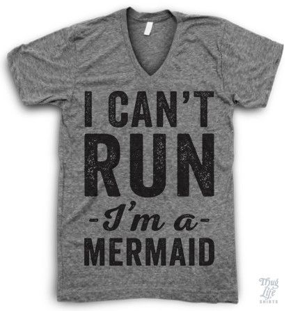 I Can't Run I'm A Mermaid!