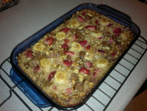 Baked Oatmeal Casserole Recipe like Urban Nester recipe (gluten free)